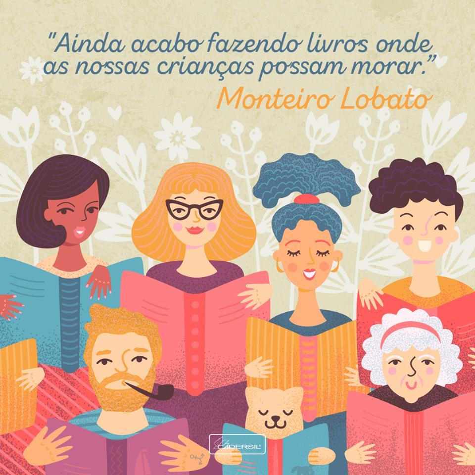 Dia Nacional Do Livro Infantil Cadersil Muito Mais Caderno