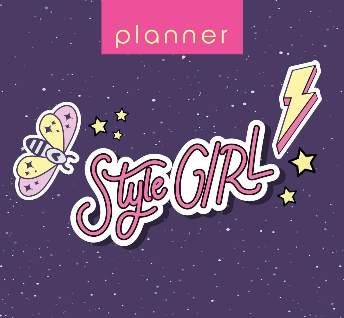 Planner Style Girl